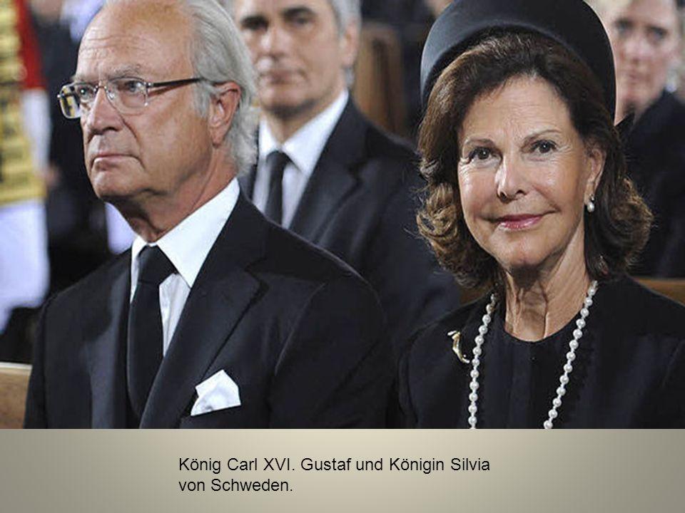 König Carl XVI. Gustaf und Königin Silvia von Schweden.