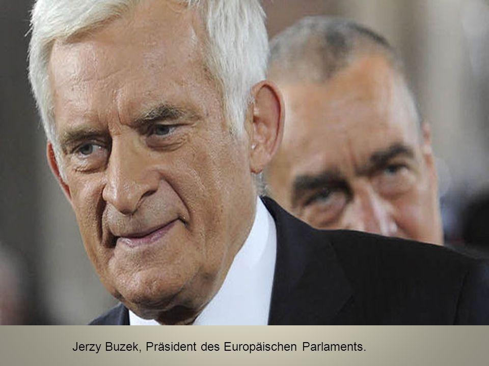 Jerzy Buzek, Präsident des Europäischen Parlaments.