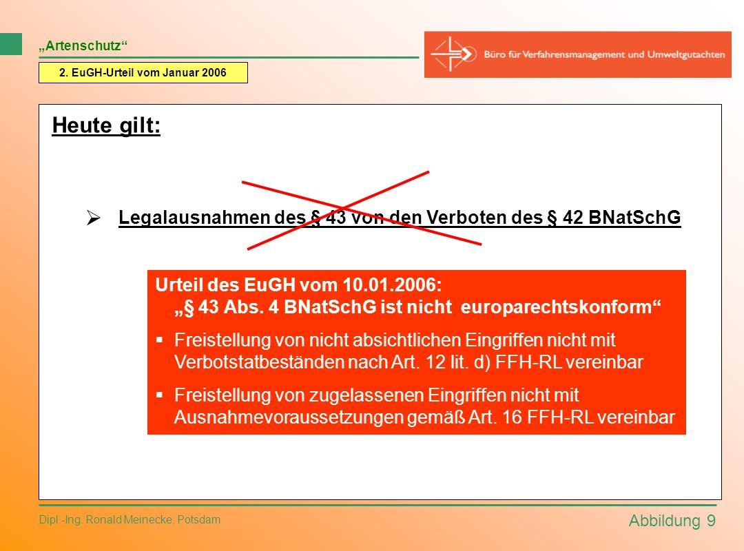 2. EuGH-Urteil vom Januar 2006