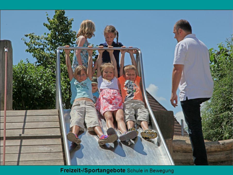 Freizeit-/Sportangebote Schule in Bewegung