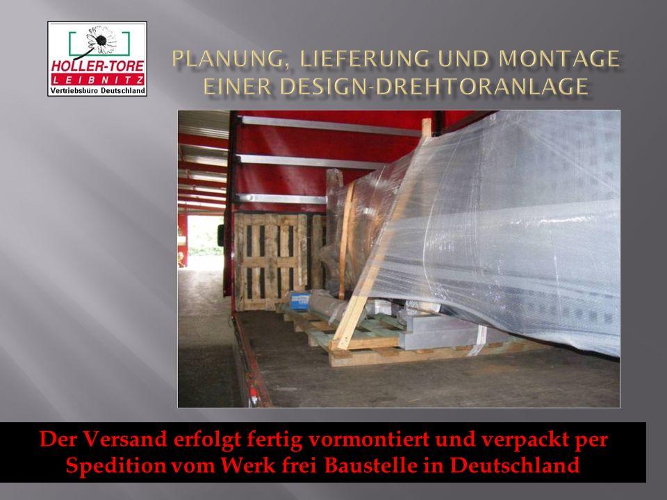 planung lieferung und montage einer design drehtoranlage ppt herunterladen. Black Bedroom Furniture Sets. Home Design Ideas