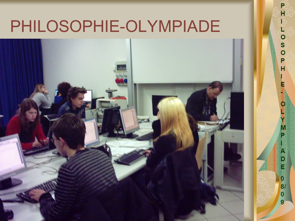 PHILOSOPHIE-OLYMPIADE