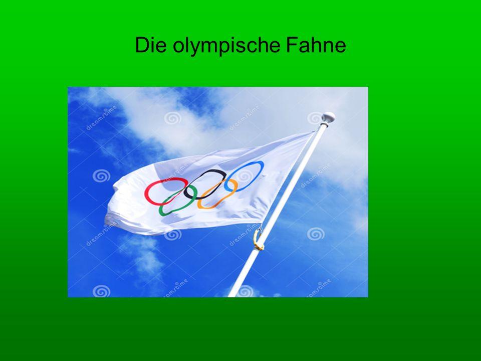Die olympische Fahne