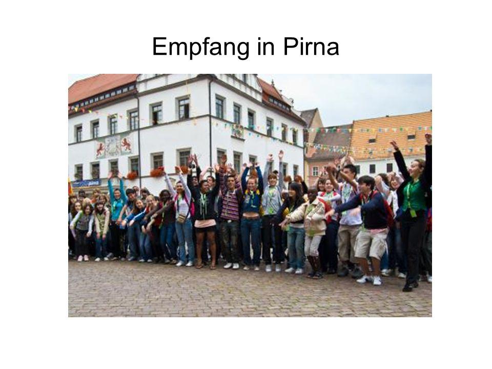 Empfang in Pirna