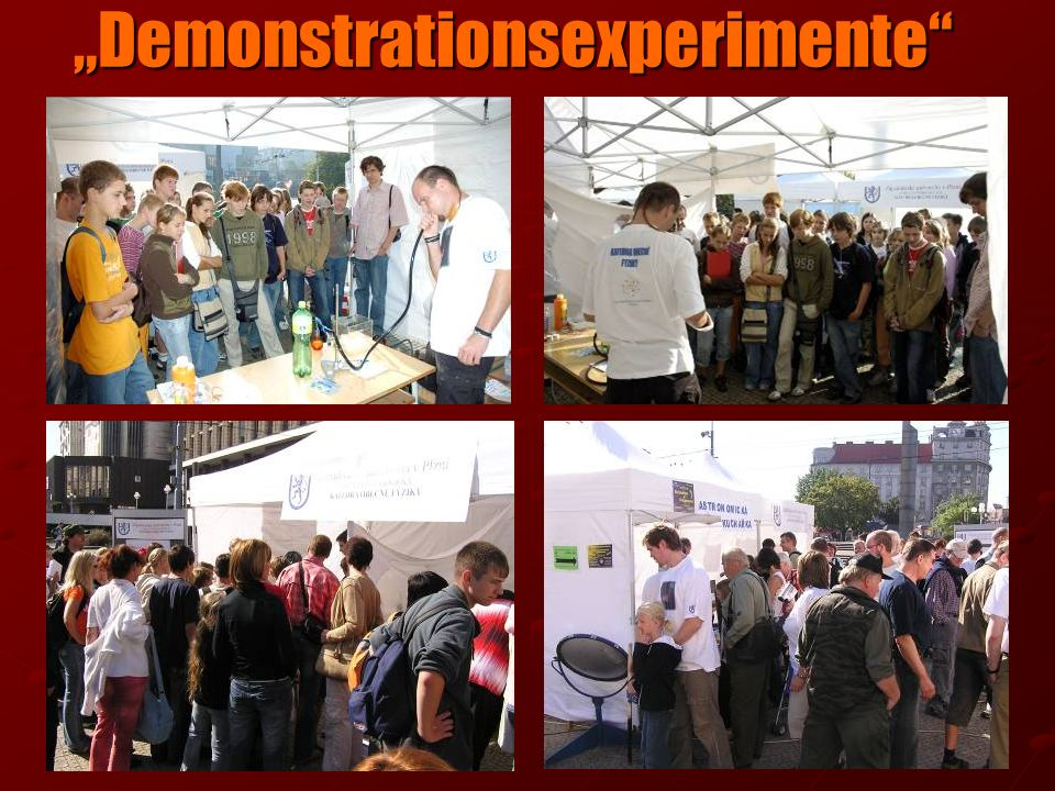 """Demonstrationsexperimente"
