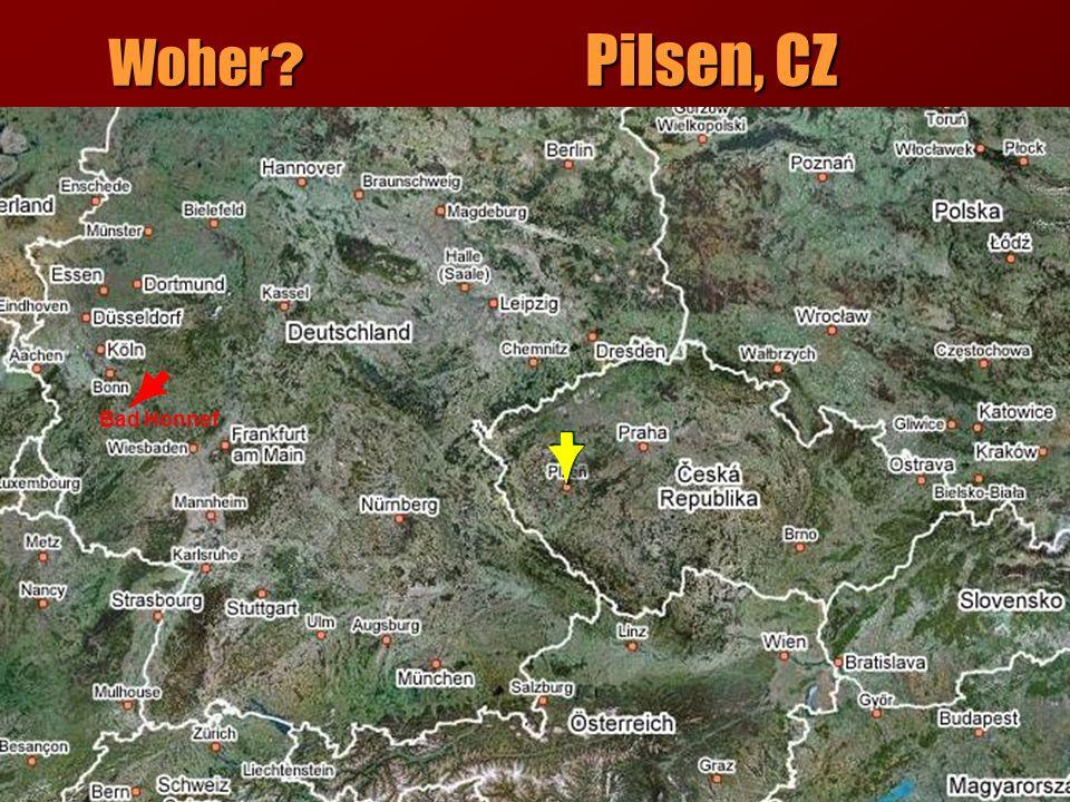 Woher Pilsen, CZ Bad Honnef