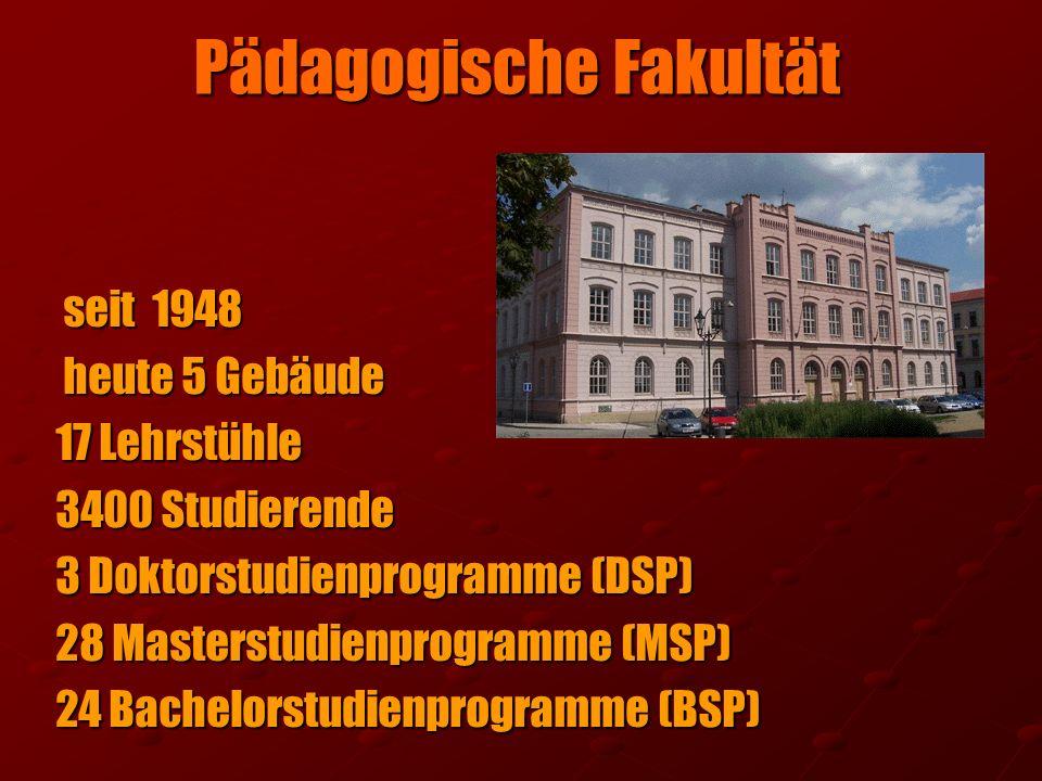 Pädagogische Fakultät