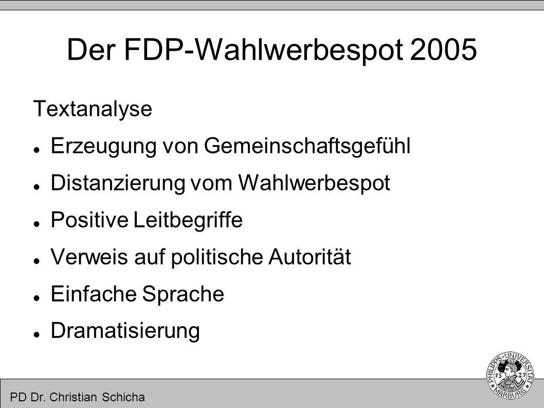 Der FDP-Wahlwerbespot 2005