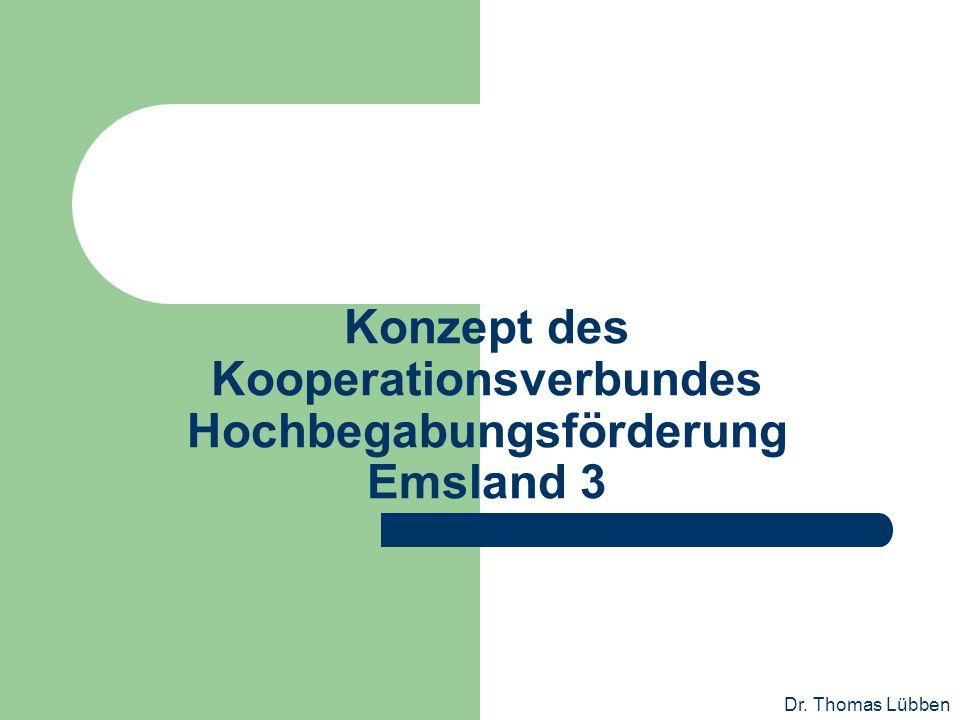 Konzept des Kooperationsverbundes Hochbegabungsförderung Emsland 3