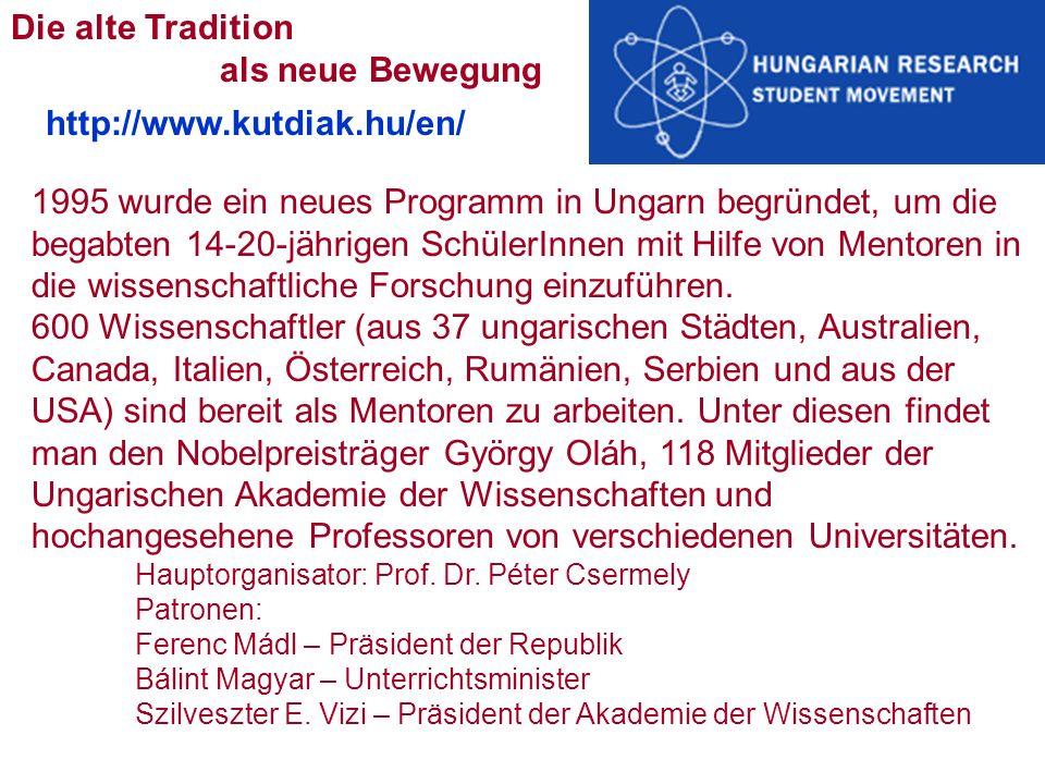 Die alte Tradition als neue Bewegung http://www.kutdiak.hu/en/