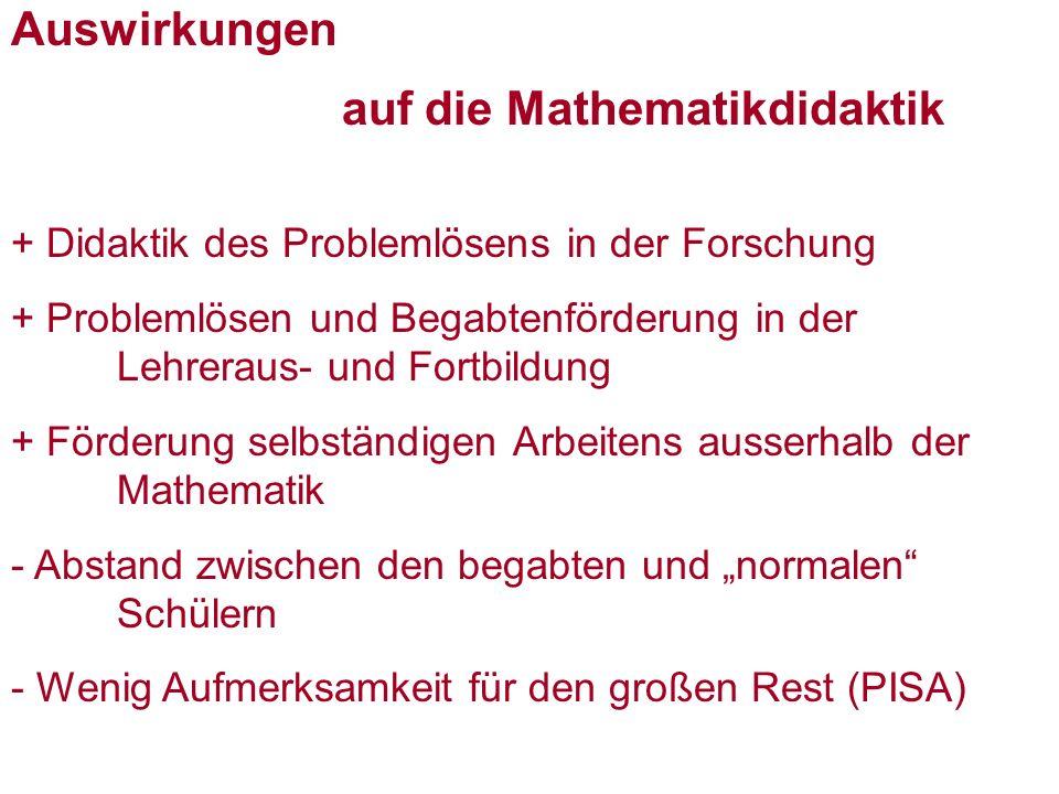 auf die Mathematikdidaktik