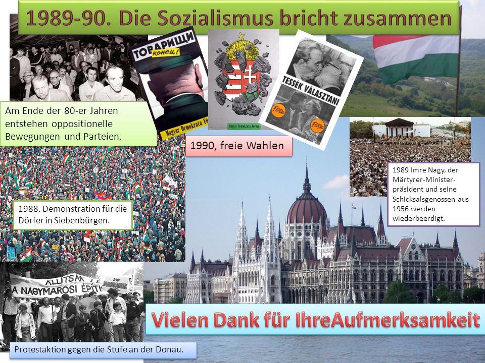 1989-90. Die Sozialismus bricht zusammen