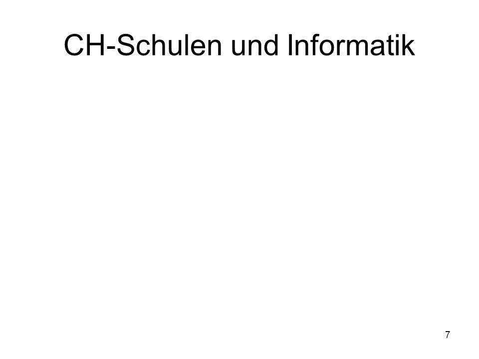 CH-Schulen und Informatik