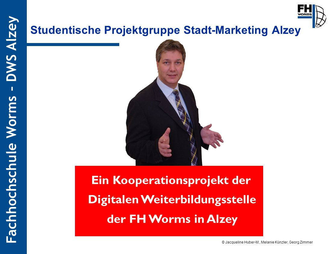 Studentische Projektgruppe Stadt-Marketing Alzey