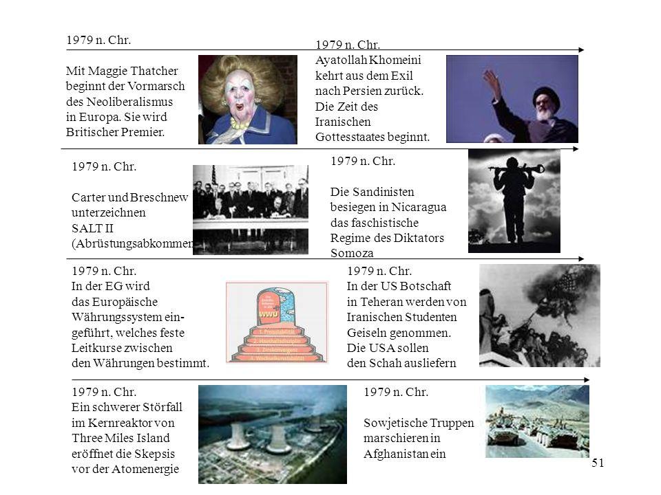 1979 n. Chr. Mit Maggie Thatcher. beginnt der Vormarsch. des Neoliberalismus. in Europa. Sie wird.