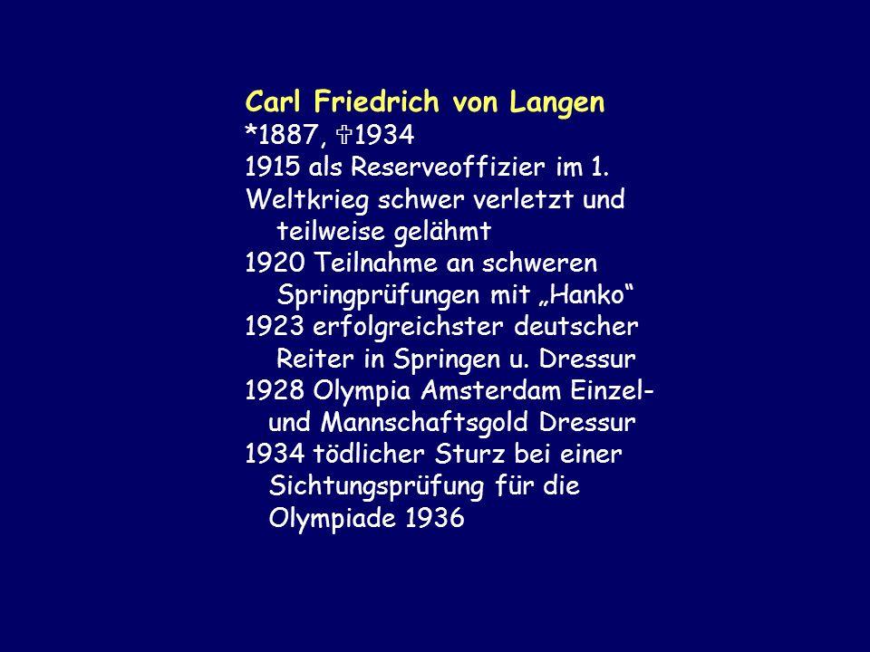 Carl Friedrich von Langen