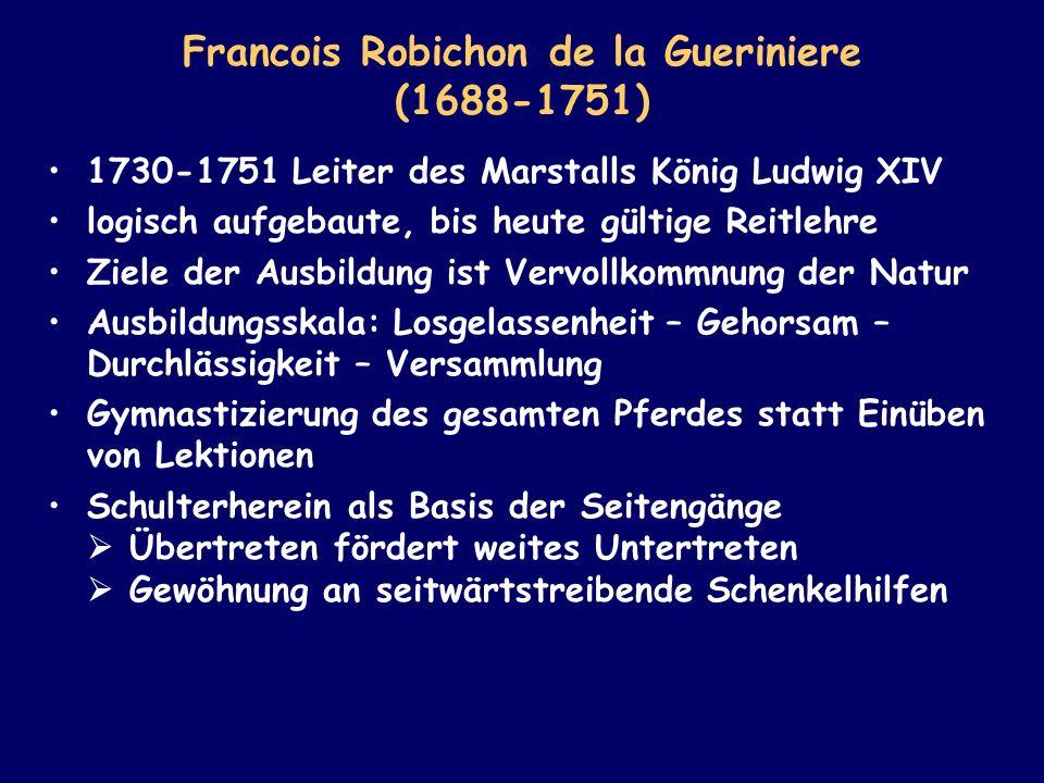 Francois Robichon de la Gueriniere (1688-1751)