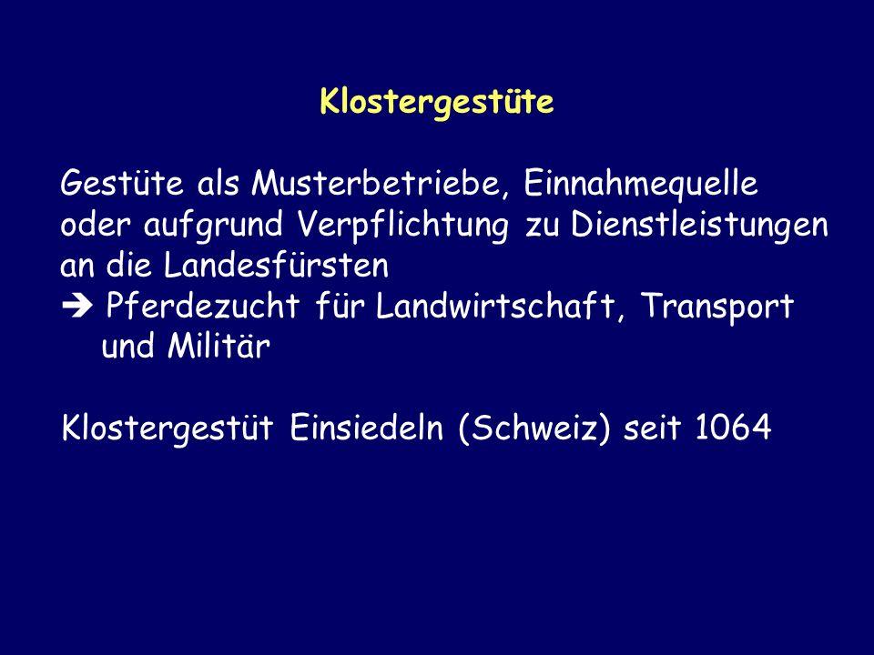 Klostergestüte