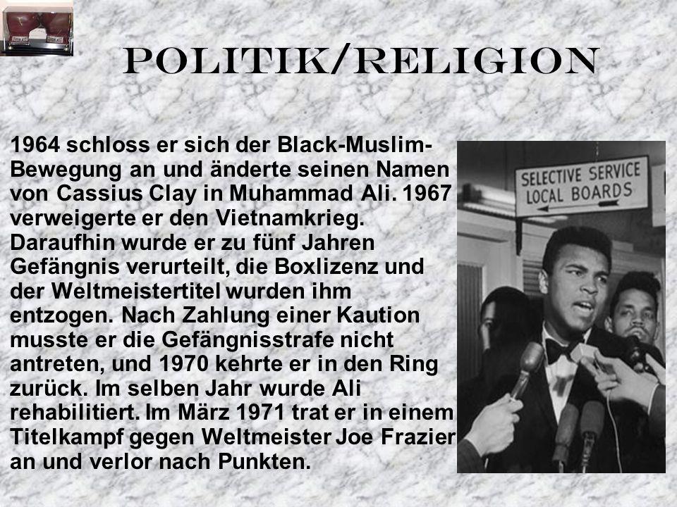 POLITIK/RELIGION