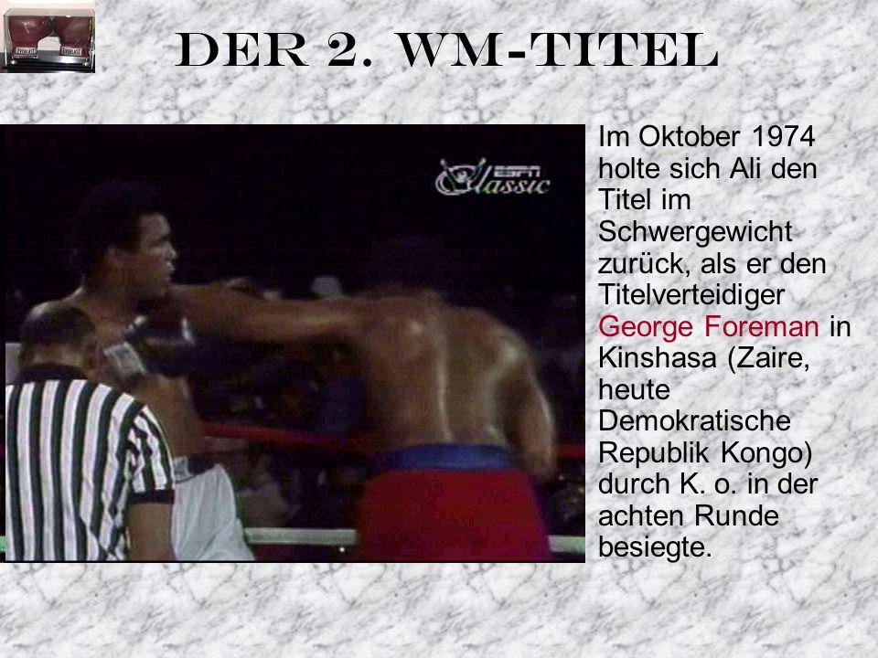 DER 2. WM-TITEL