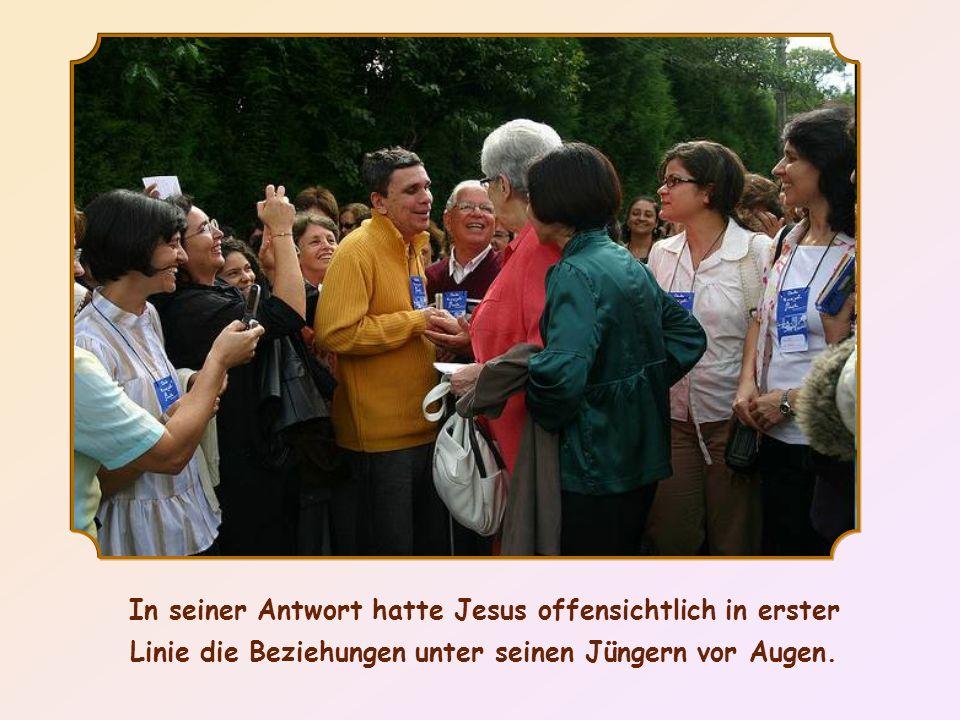 In seiner Antwort hatte Jesus offensichtlich in erster Linie die Beziehungen unter seinen Jüngern vor Augen.