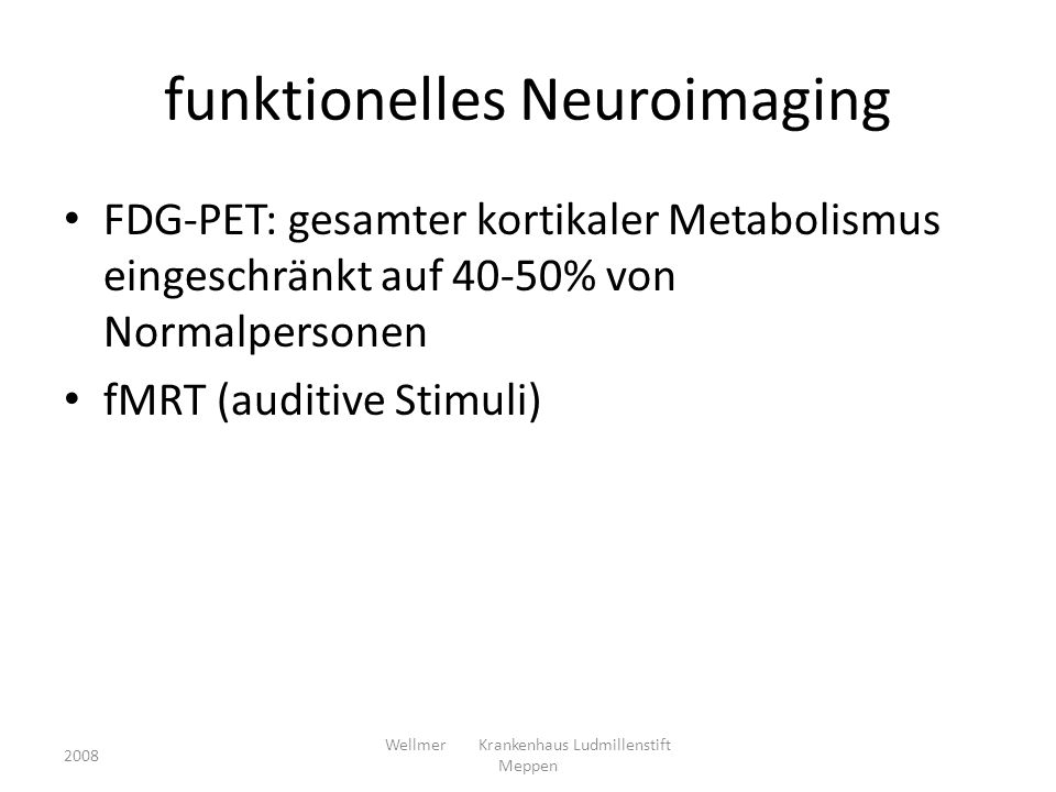 funktionelles Neuroimaging
