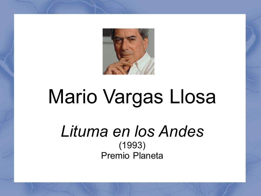 Mario Vargas Llosa Lituma en los Andes (1993) Premio Planeta