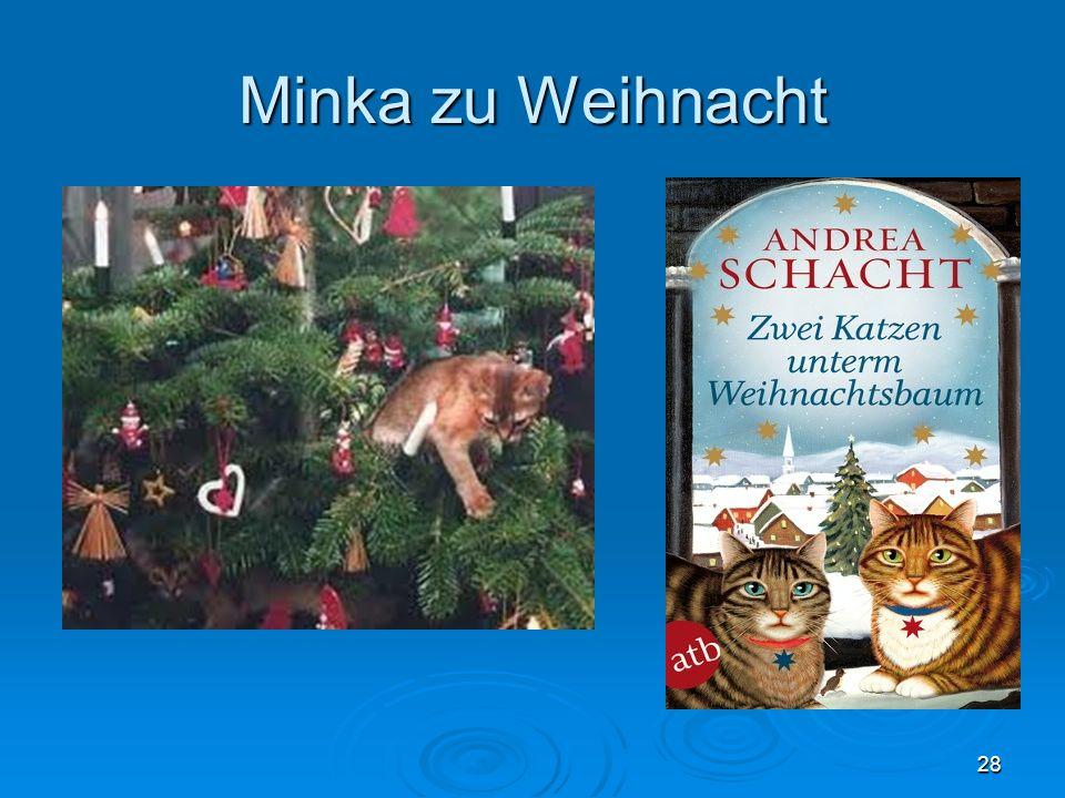 Minka zu Weihnacht