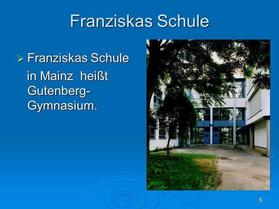 Franziskas Schule Franziskas Schule