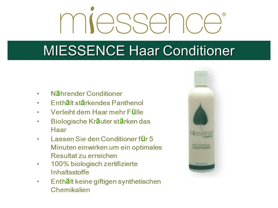 MIESSENCE Haar Conditioner