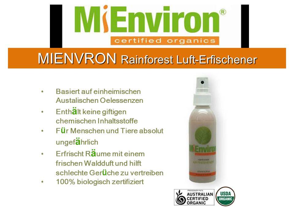 MIENVRON Rainforest Luft-Erfischener