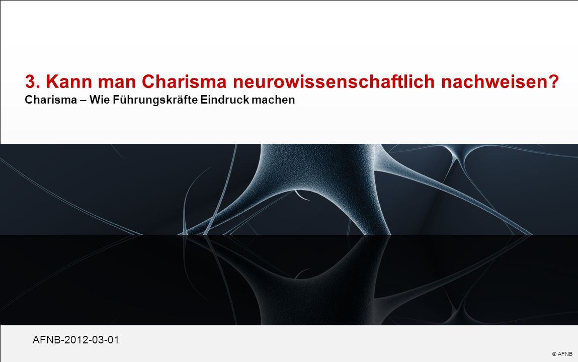 3. Kann man Charisma neurowissenschaftlich nachweisen