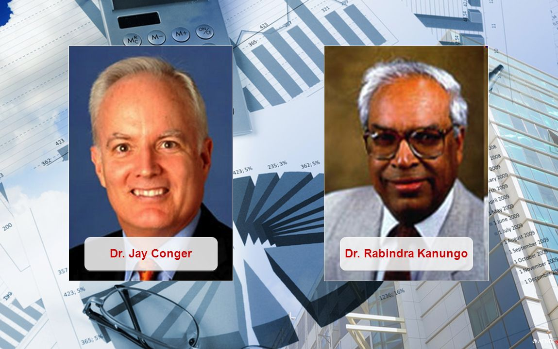 Dr. Jay Conger Dr. Rabindra Kanungo