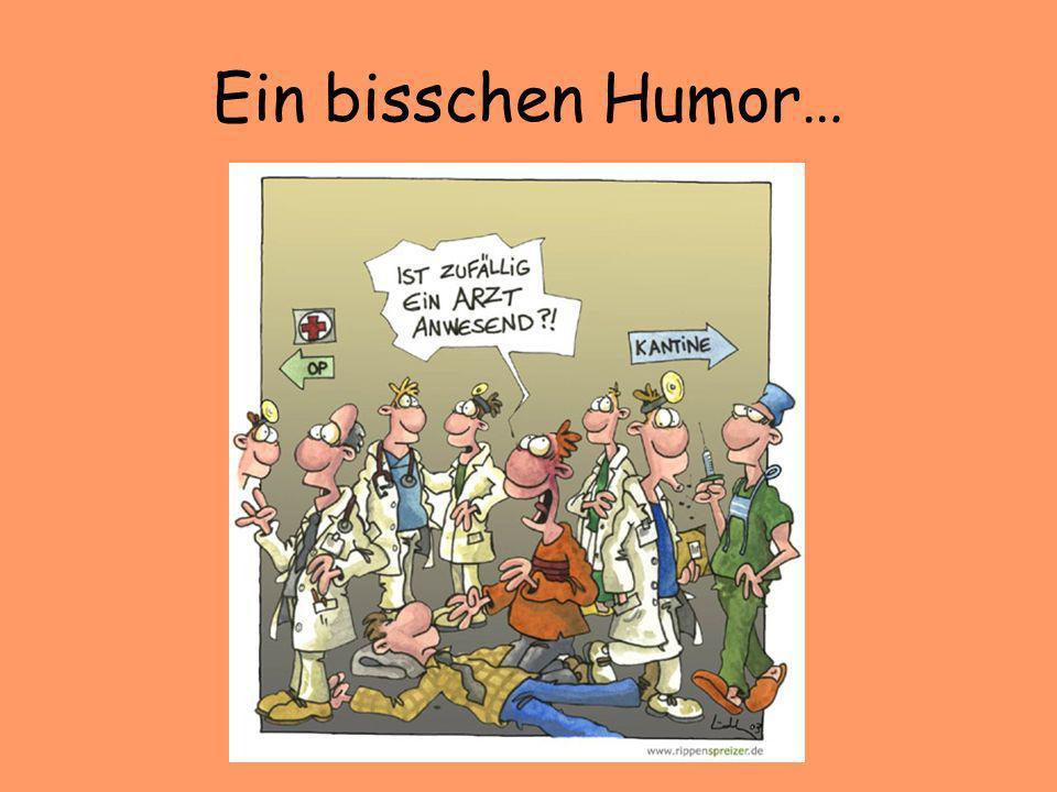 Ein bisschen Humor…