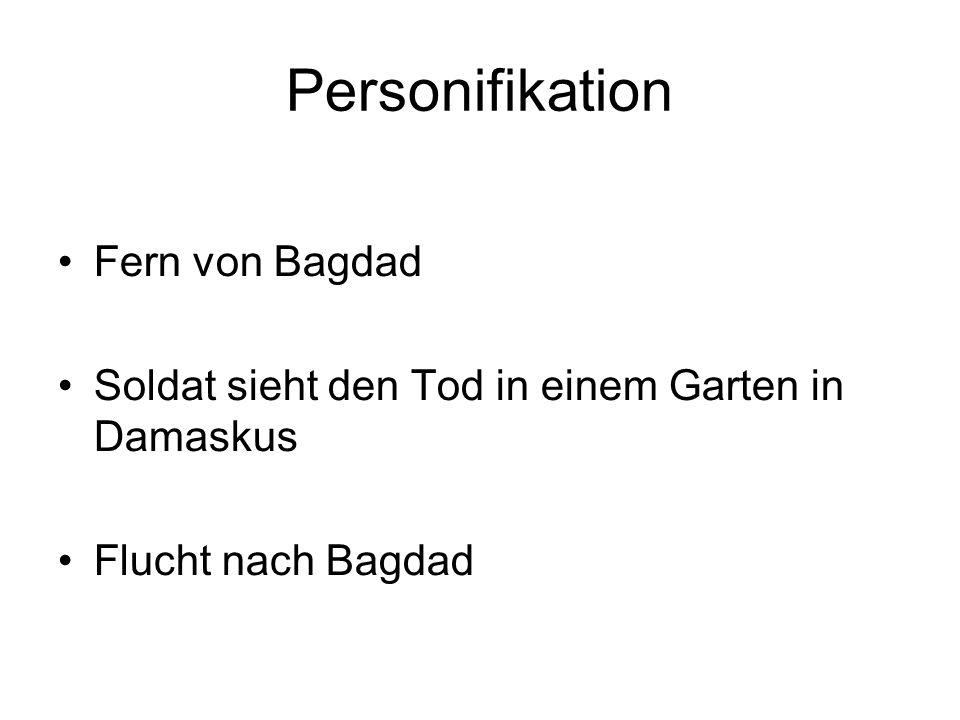 Personifikation Fern von Bagdad