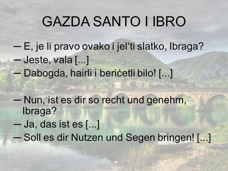 GAZDA SANTO I IBRO