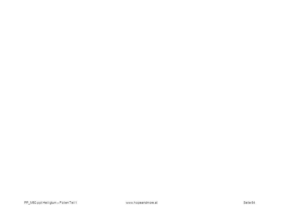 PP_M50.ppt Heiligtum – Folien Teil 1