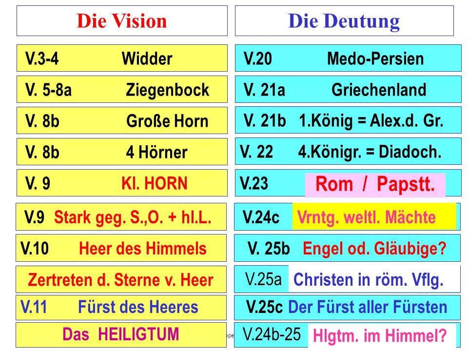 Zertreten d. Sterne v. Heer V.25c Der Fürst aller Fürsten