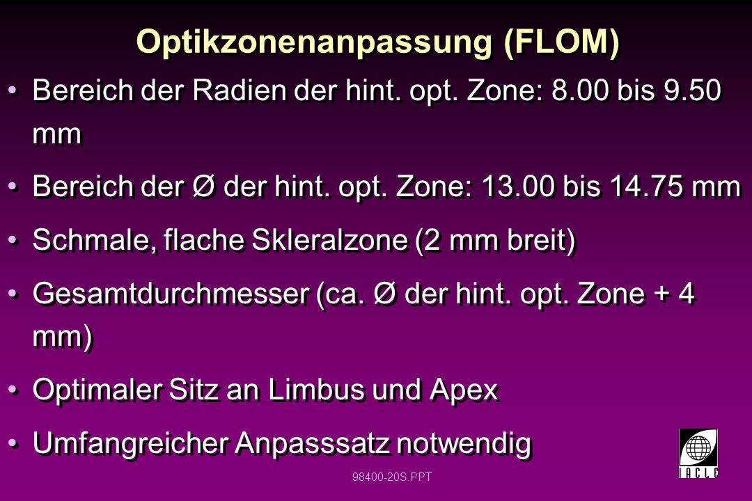 Optikzonenanpassung (FLOM)