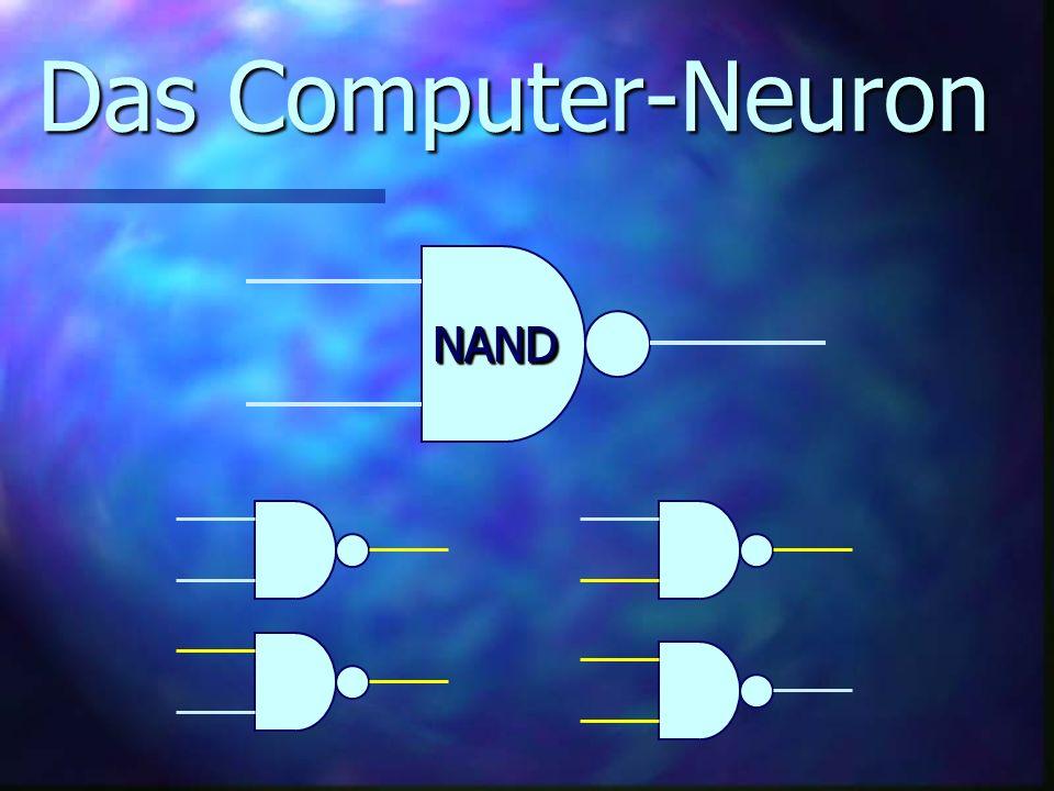 Das Computer-Neuron NAND