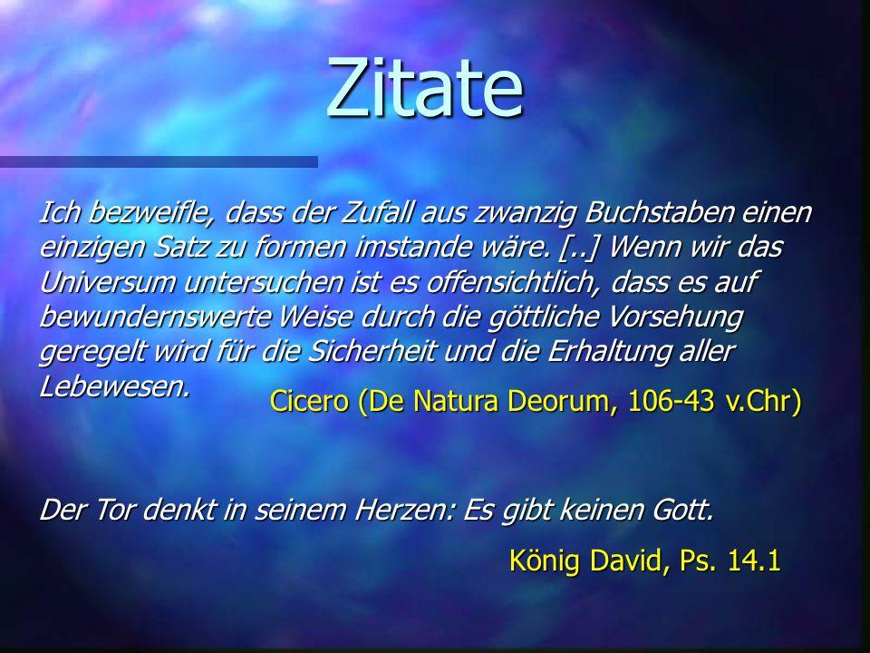 Zitate Cicero (De Natura Deorum, 106-43 v.Chr)