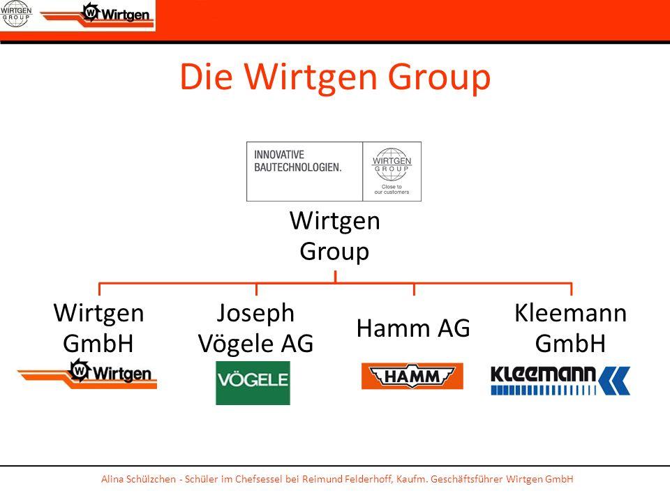 Die Wirtgen GroupWirtgen Group. Wirtgen GmbH. Joseph Vögele AG. Hamm AG. Kleemann GmbH.
