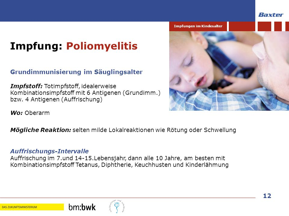 Impfung: Poliomyelitis