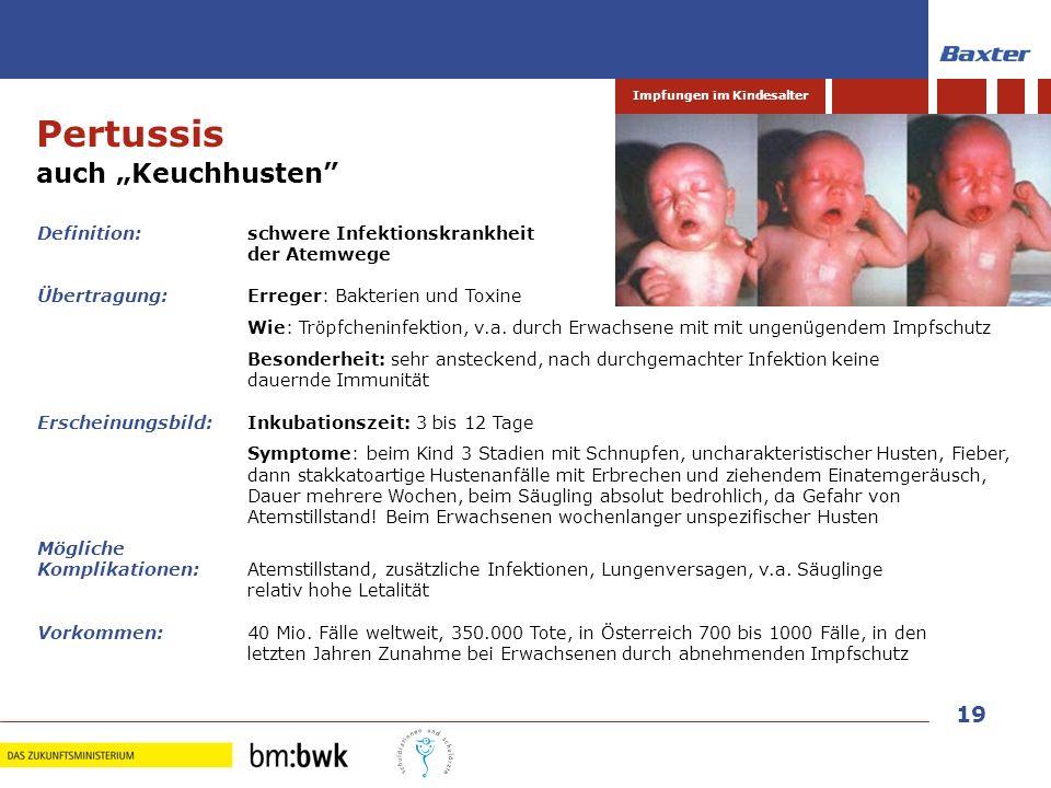 """Pertussis auch """"Keuchhusten Definition: schwere Infektionskrankheit"""