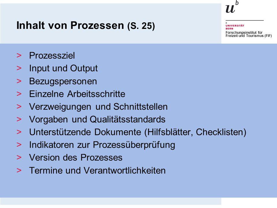 Inhalt von Prozessen (S. 25)