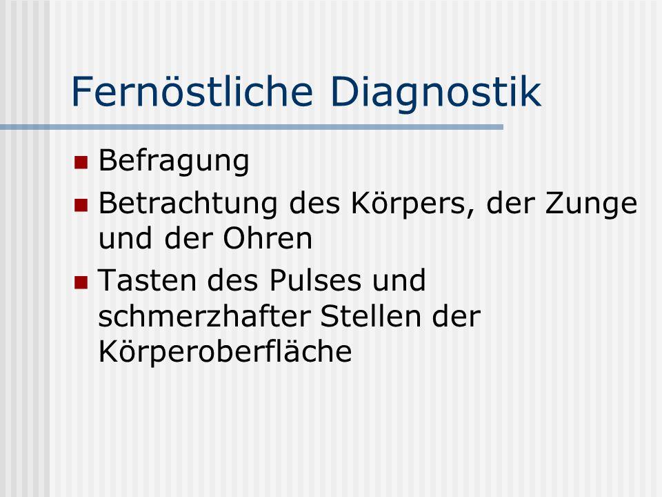 Fernöstliche Diagnostik