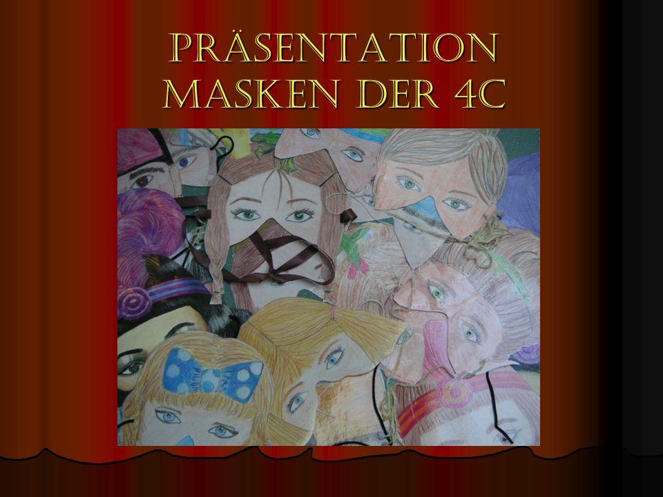 Präsentation Masken der 4C