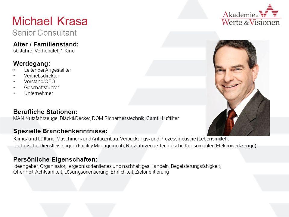 Michael Krasa Senior Consultant