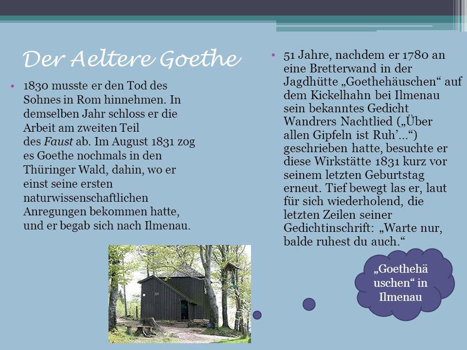 """""""Goethehäuschen in Ilmenau"""