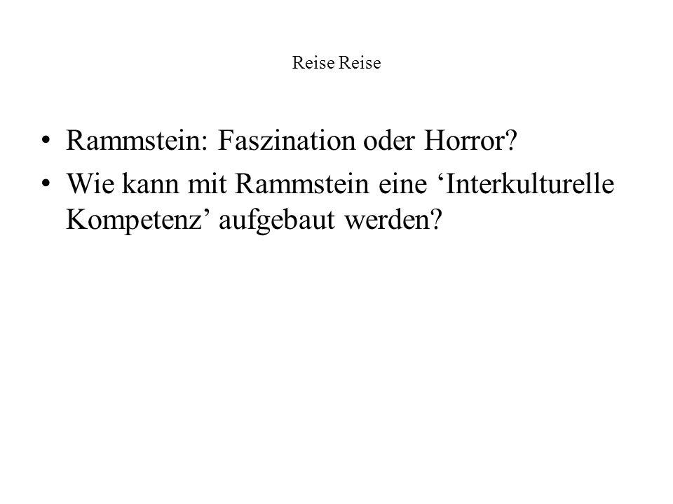 Rammstein: Faszination oder Horror